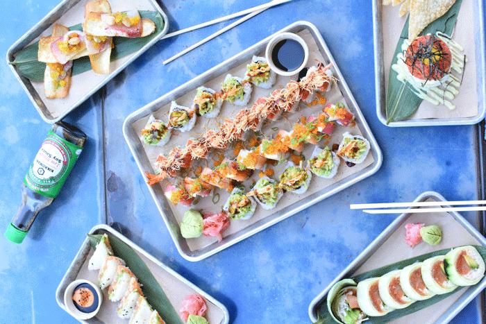 Hōru Sushi Kitchen - vendor background