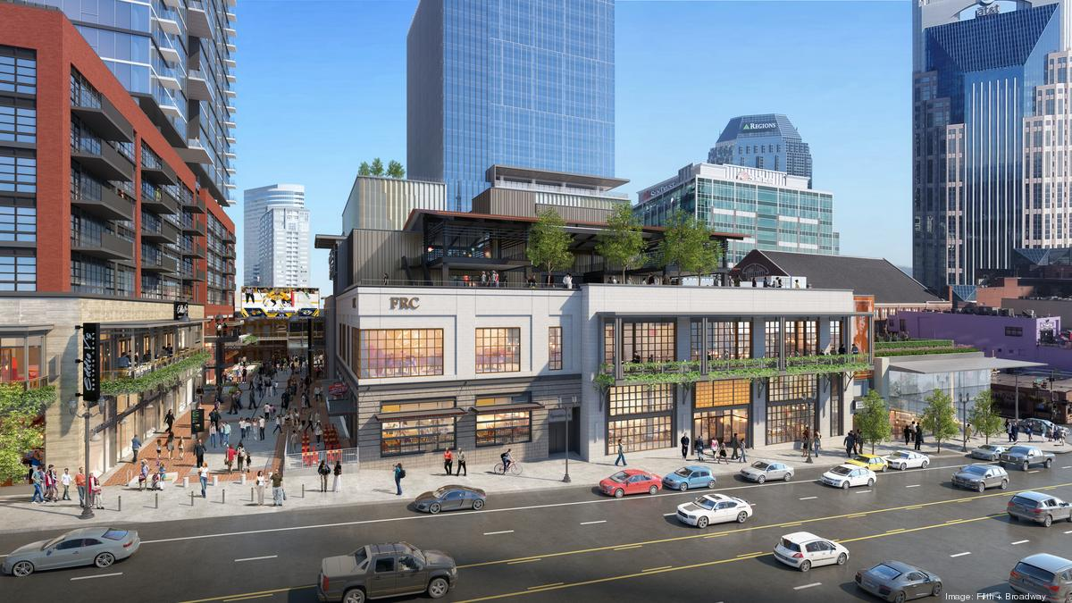 Fifth + Broadway food hall adds three new restaurants, eyeing spring opening
