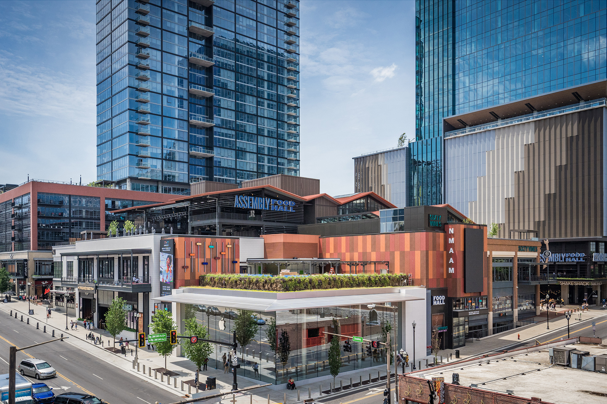 Nashville's Largest Rooftop<br /> 30 Eateries & Bars<br /> And 3 Stages!<br />  - hero
