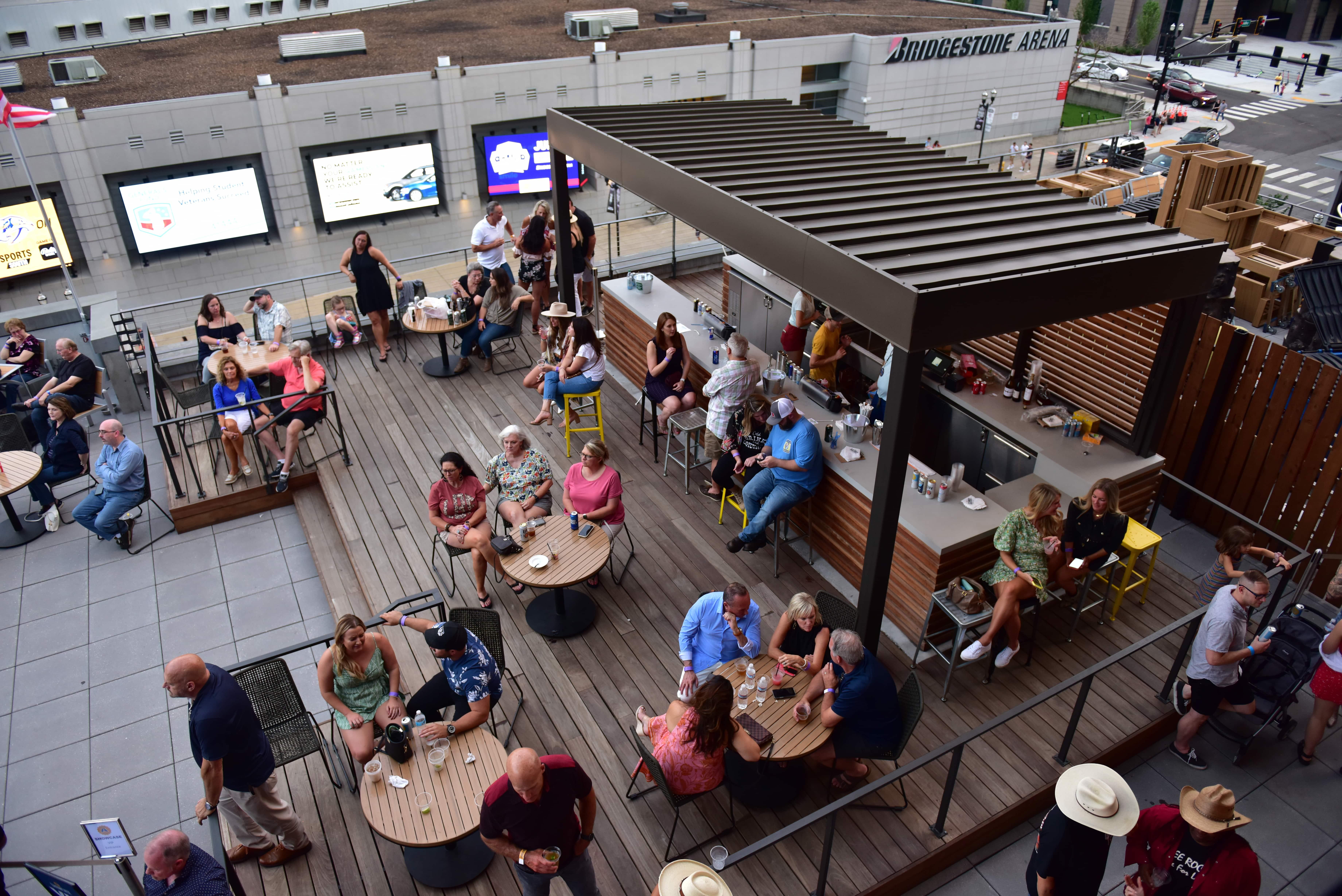 Cabana Bar - vendor background