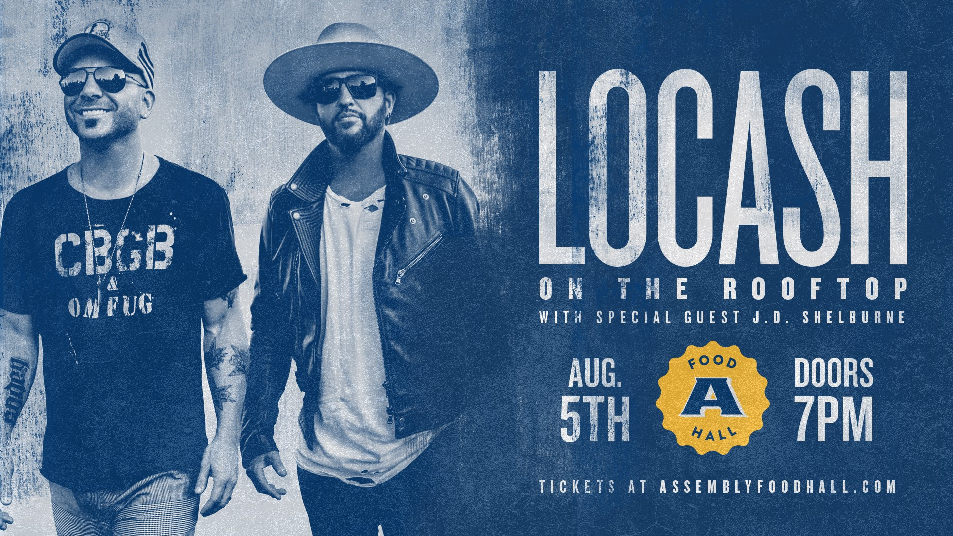 Promo image of LoCash on the Rooftop