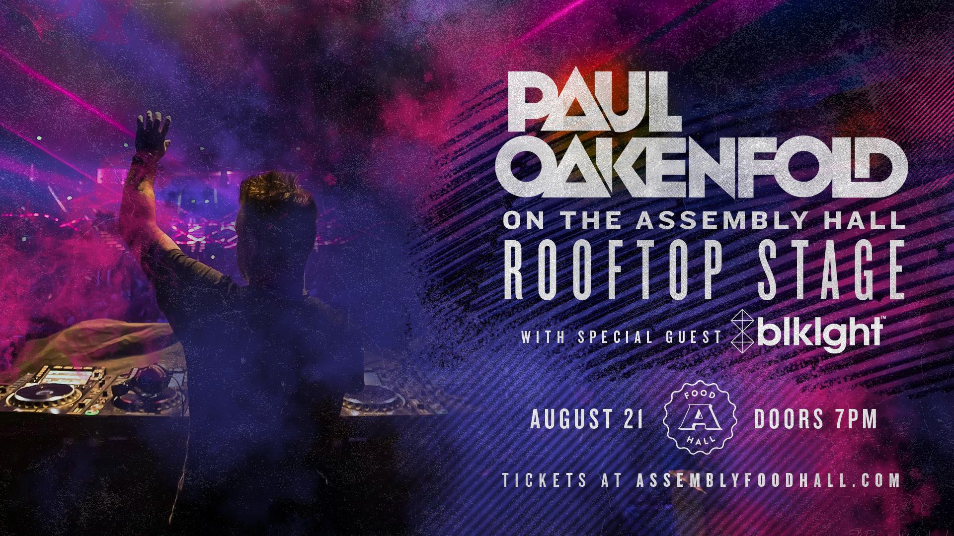 Paul Oakenfold on the Rooftop - hero