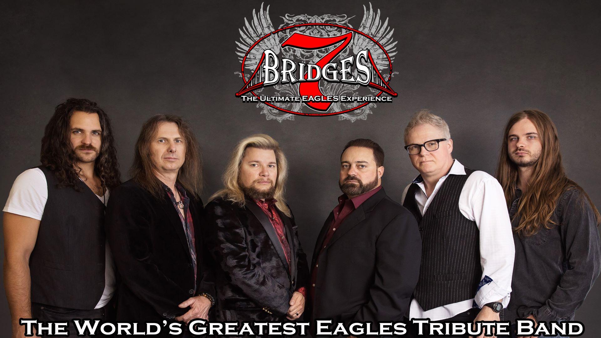 Promo image of Eagles Tribute: 7 Bridges on the Skydeck