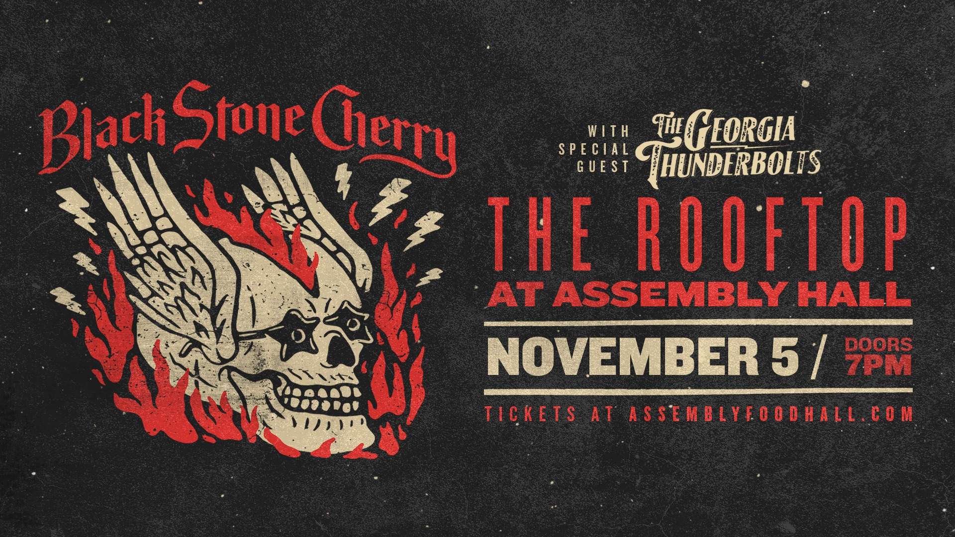 Promo image of Black Stone Cherry on the Skydeck