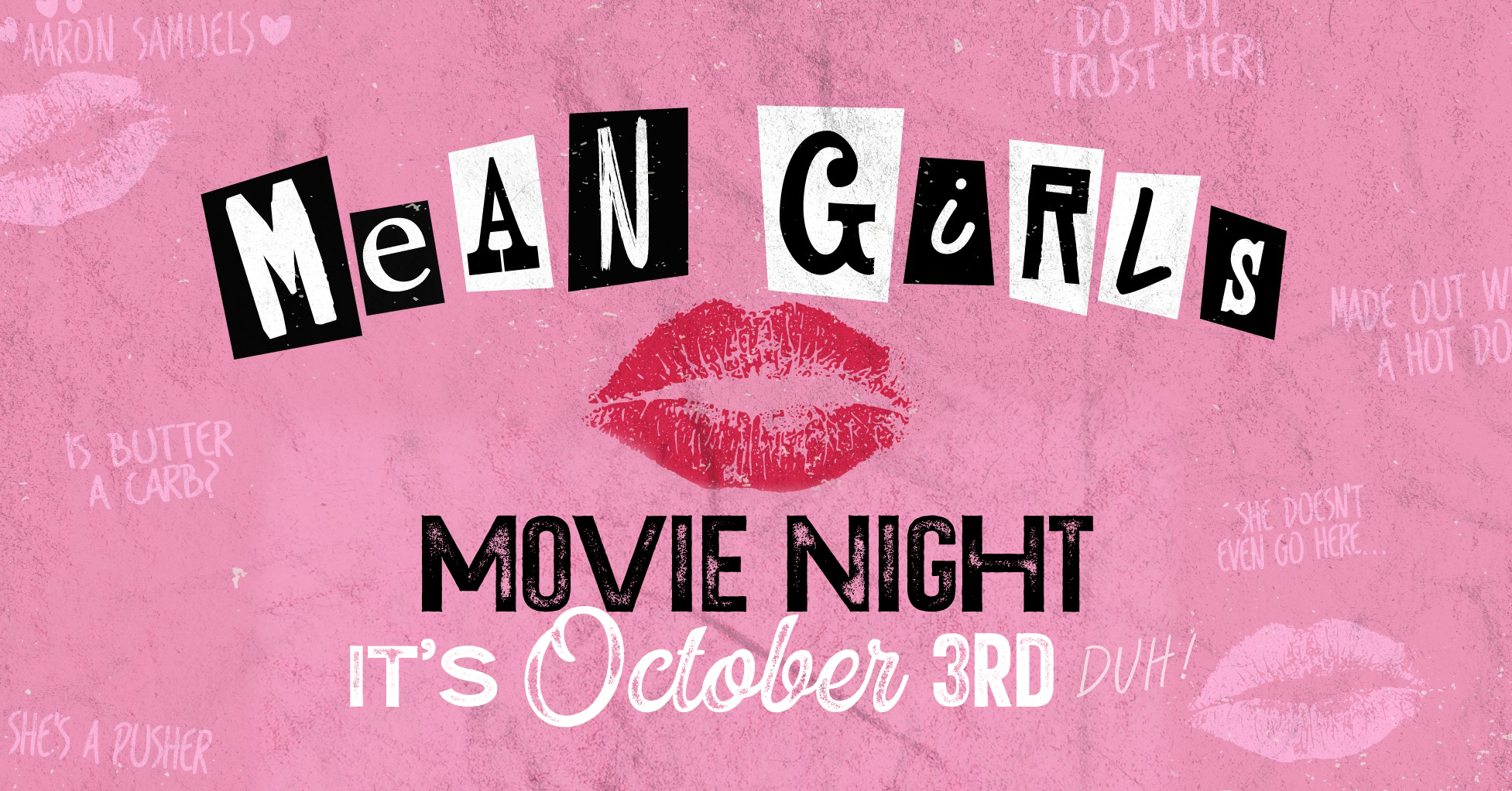 Promo image of Mean Girls Movie Night on the Skydeck