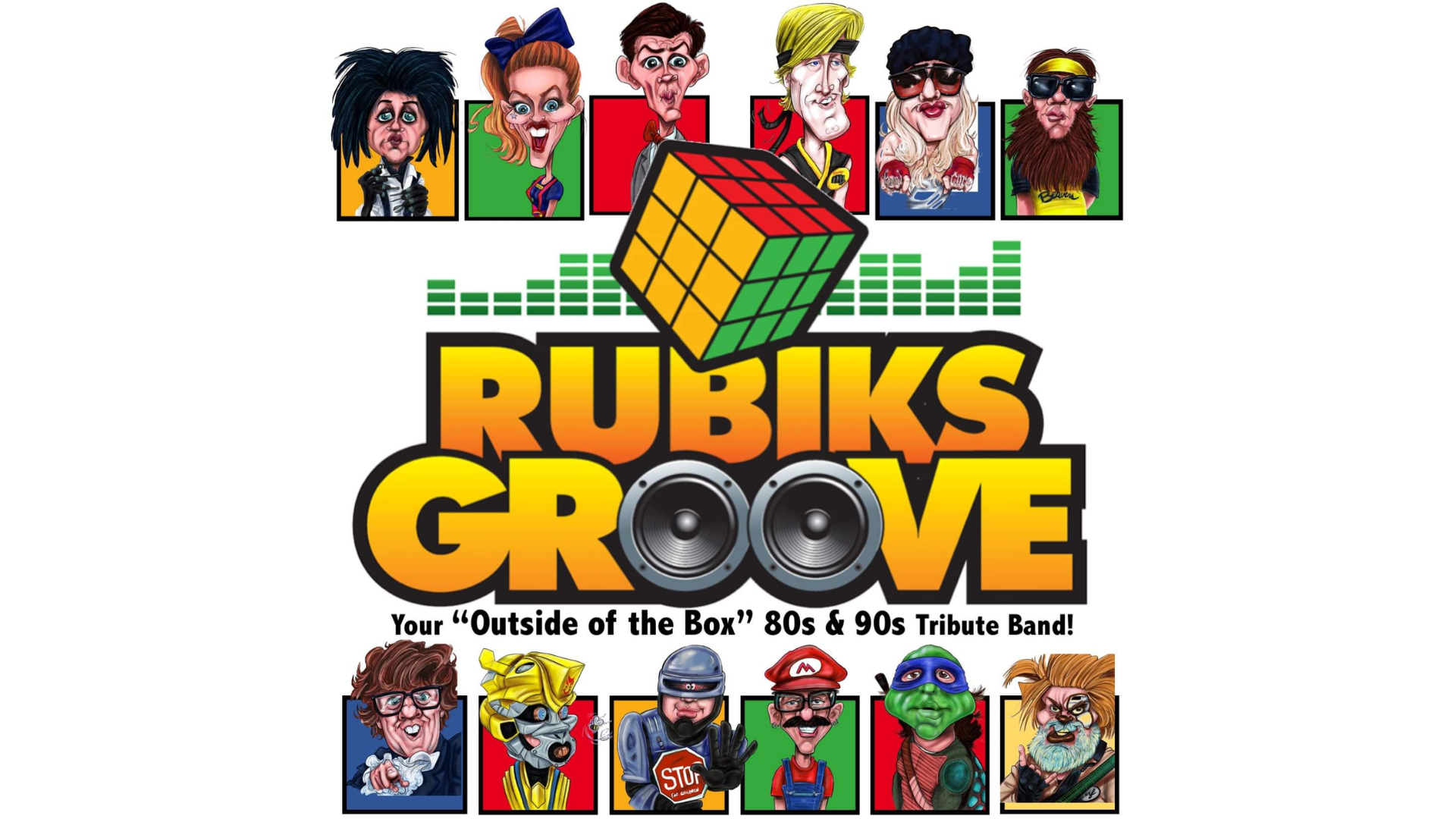 Promo image of 80s & 90s Tribute: Rubiks Groove on Skydeck