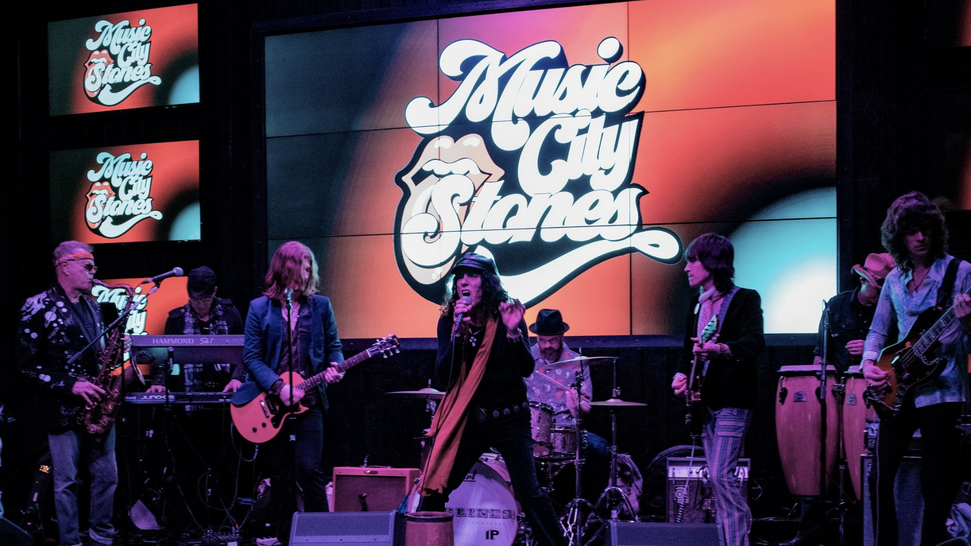 Promo image of Rolling Stones Tribute: Music City Stones on Skydeck