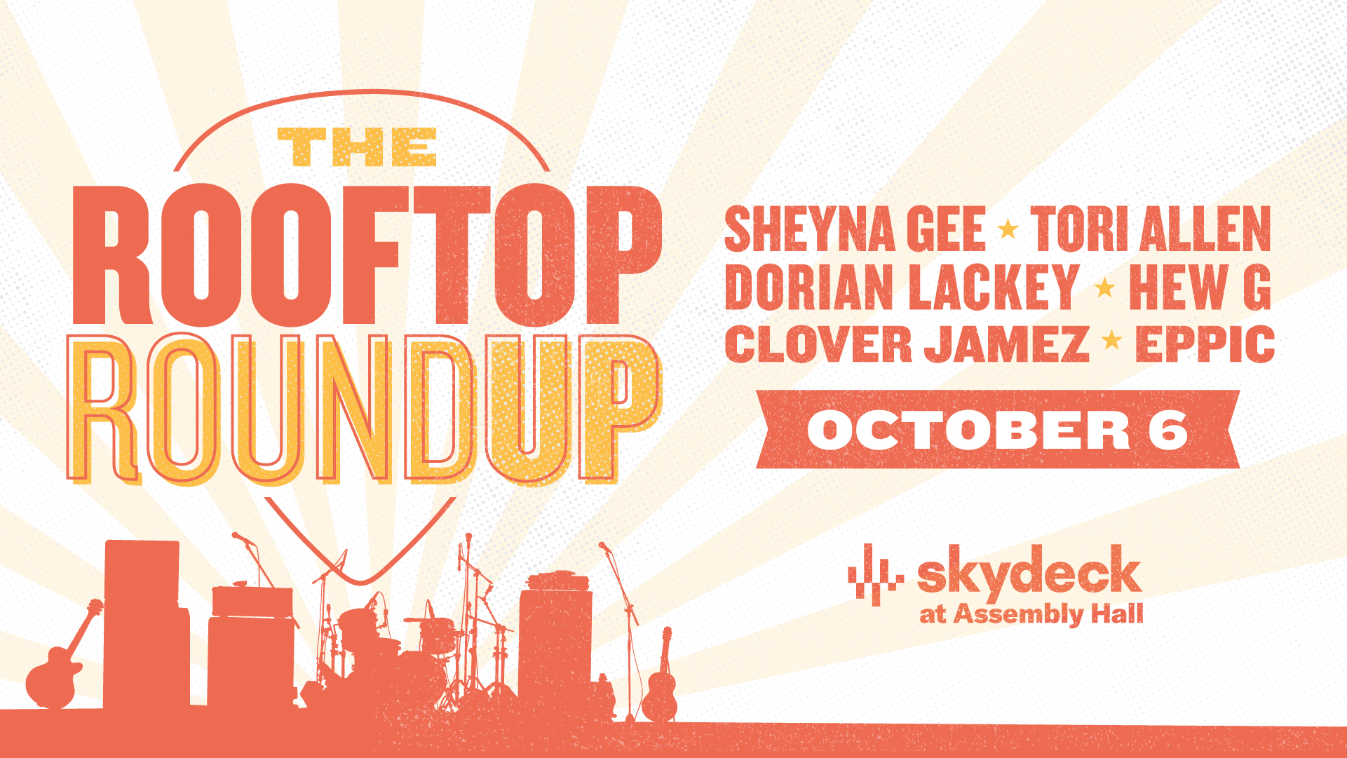 Promo image of The Rooftop Roundup on Skydeck