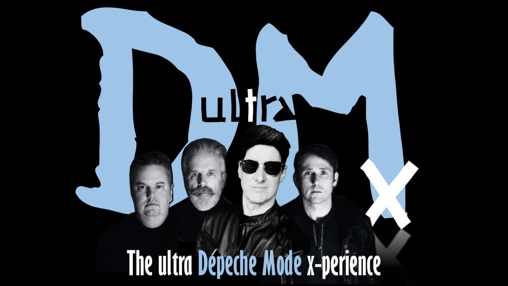 Promo image of Depeche Mode Tribute: UltraDMx on Skydeck
