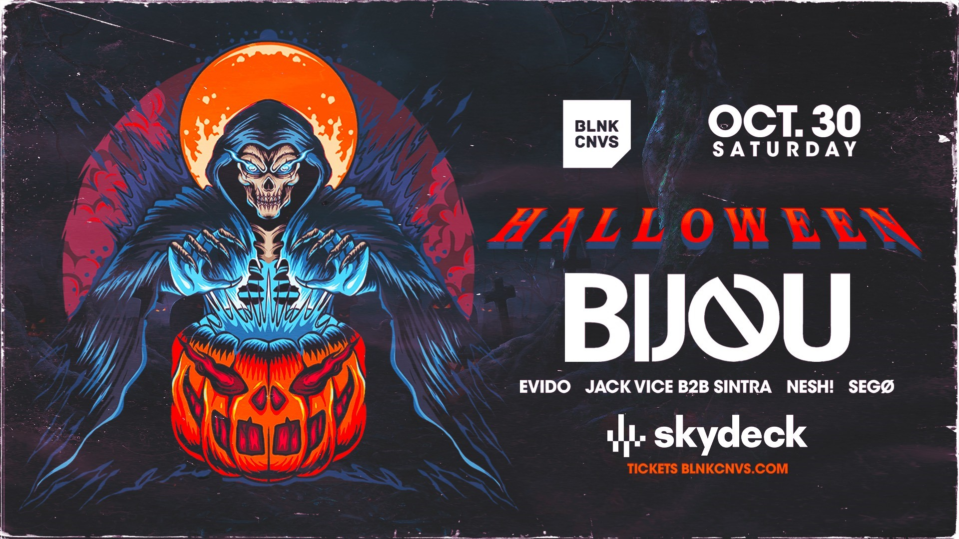 Promo image of Halloween Party on Skydeck
