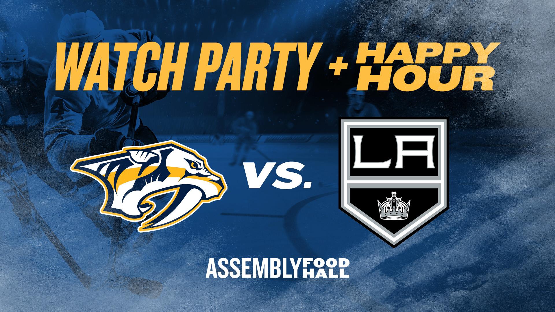 Predators vs. LA Kings I Watch Party & Happy Hour - hero